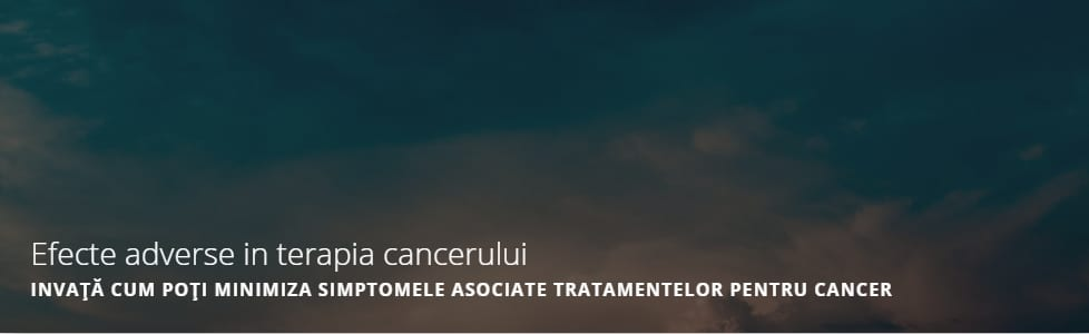 Efecte adverse in terapia cancerului