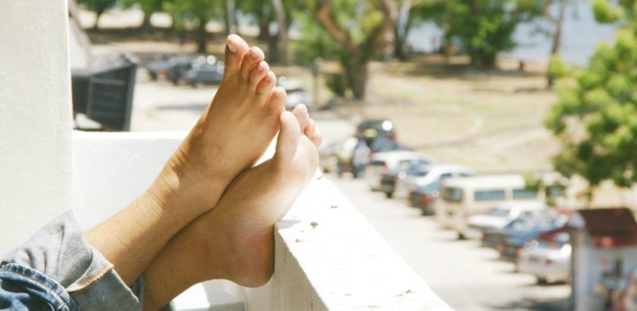picior unilateral umflat