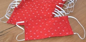 masca textila din bumbac